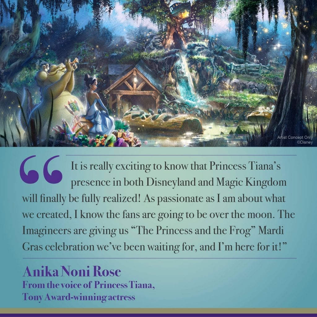 The Princess and the Frog is Coming to Disneyland Park & Magic Kingdom Park