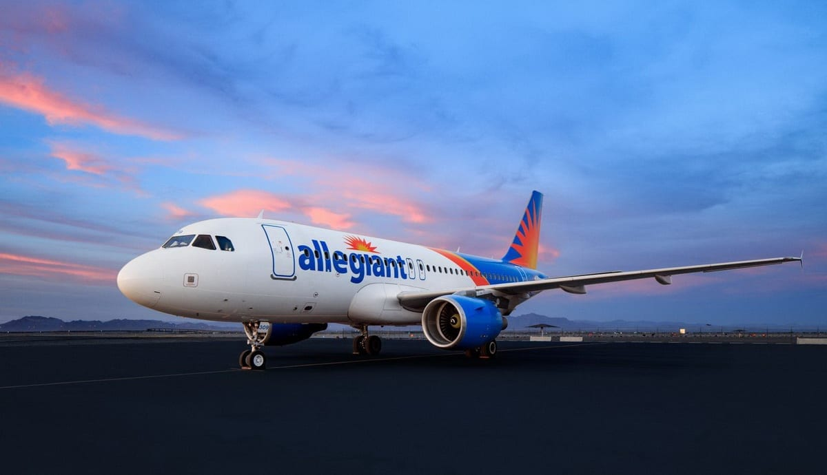 Allegiant Airlines Sunset- Feature