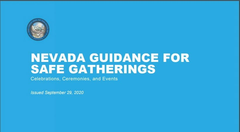 NEVADA GUIDANCE FOR SAFE GATHERINGS