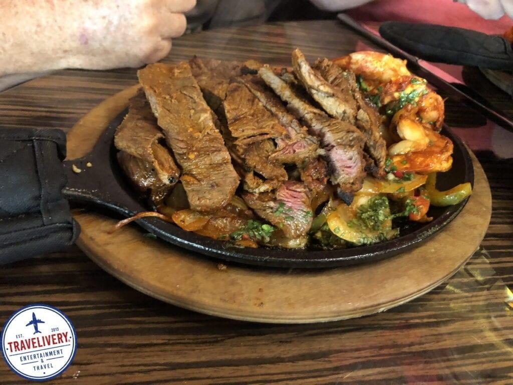 Shrimp & Steak Combo - Fajita Platter at El Dorado Cantina