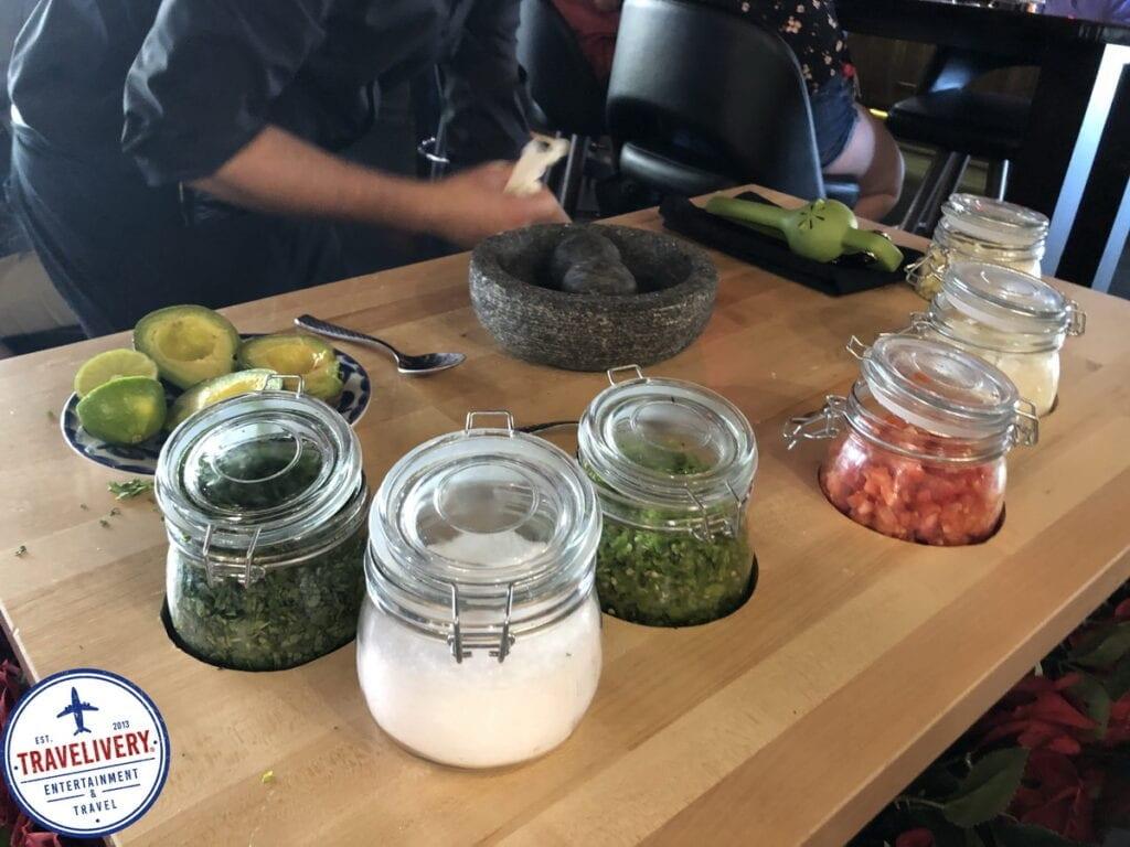 Tableside Guacamole Prep