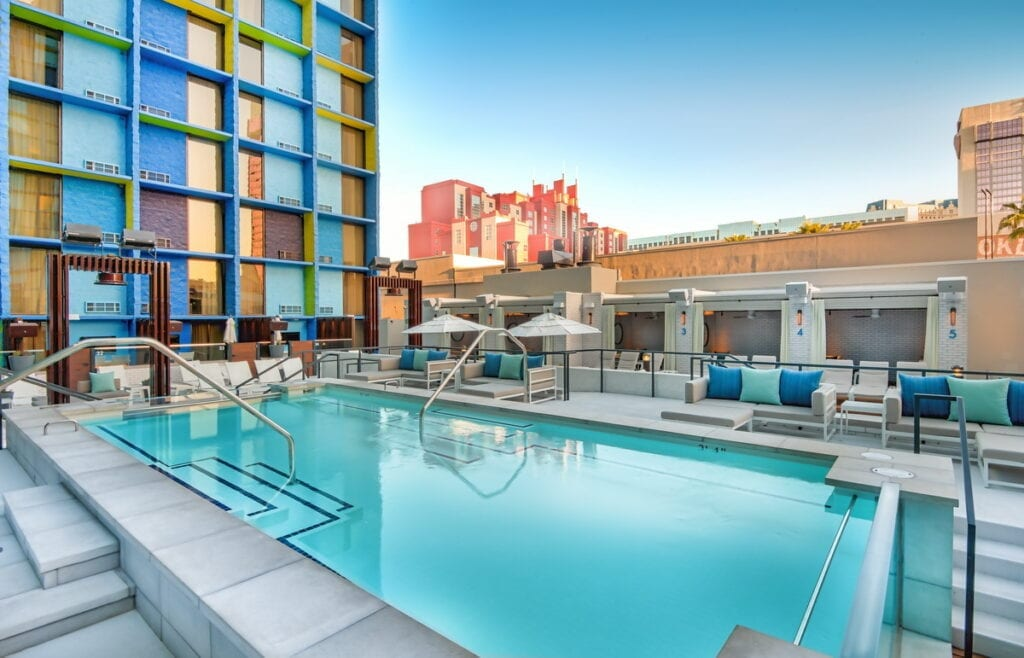 The POOL at The LINQ