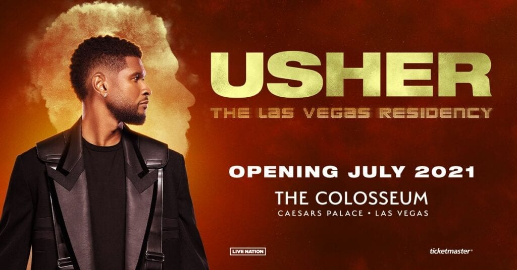 Usher at The Colosseum at Caesars Palace