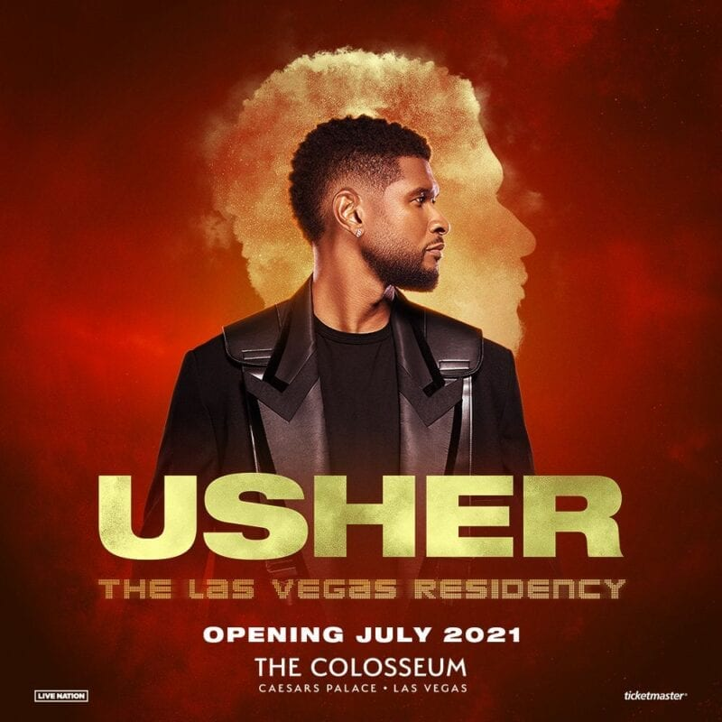 Usher at The Colosseum at Caesars Palace