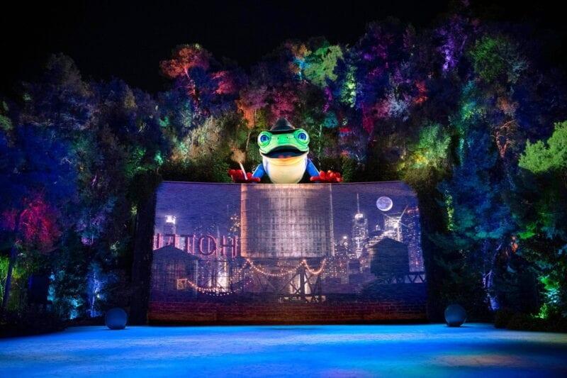 Lake of Dreams at Wynn - Singing Frog 2 - Photo Credit Eric Jamison