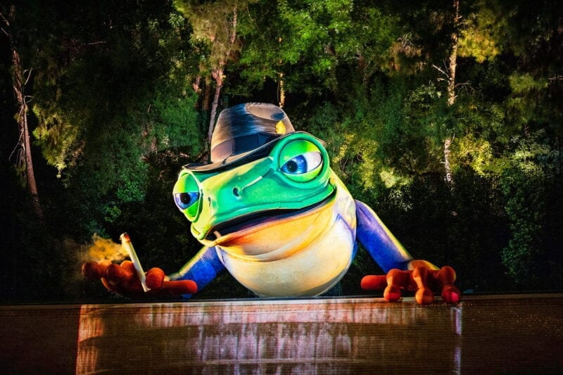 Lake of Dreams at Wynn - Singing Frog - Photo Credit Eric Jamison