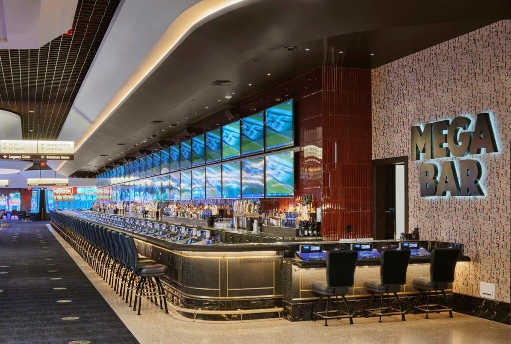 MEGA Bar is Nevada's longest indoor bar