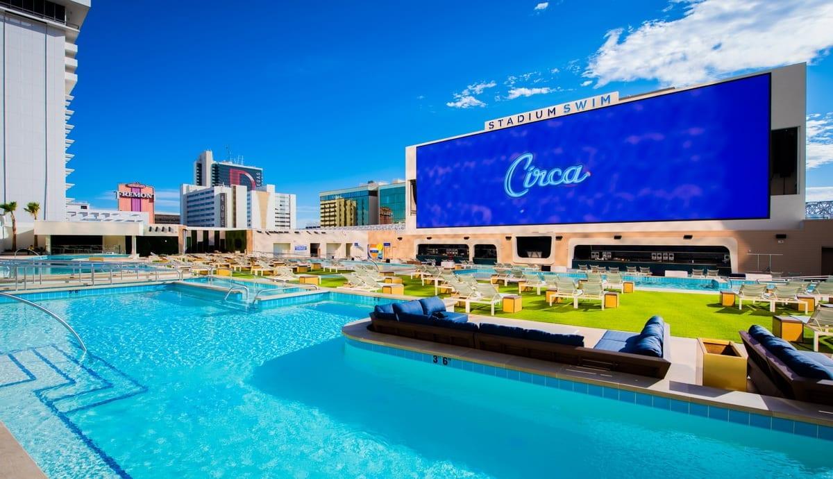 Stadium Swim at Circa Resort & Casino