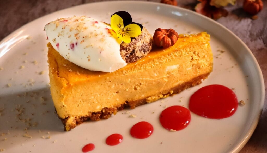 Americana Las Vegas - Pumpkin Cheesecake