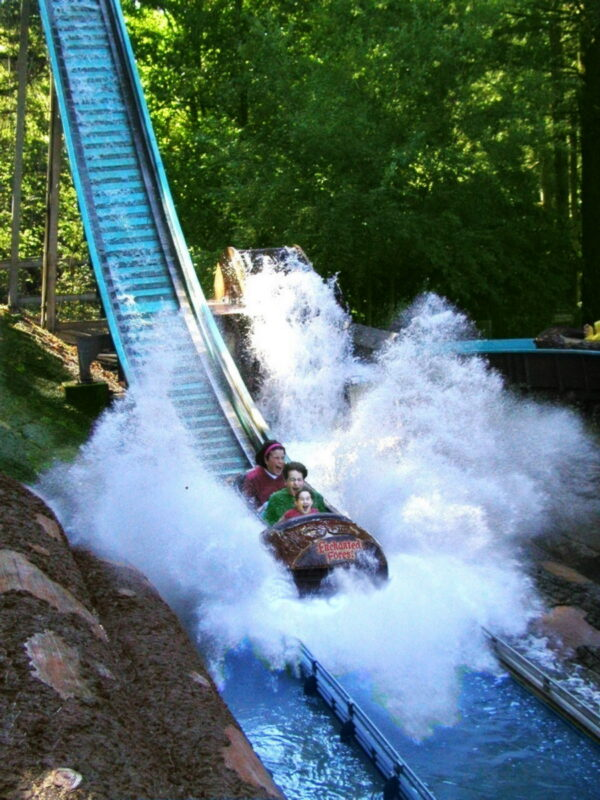 Big Timber Log Ride at Enchanted Forest 600x800
