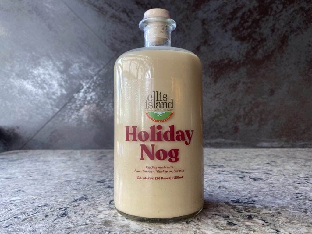Ellis Island Holiday Nog
