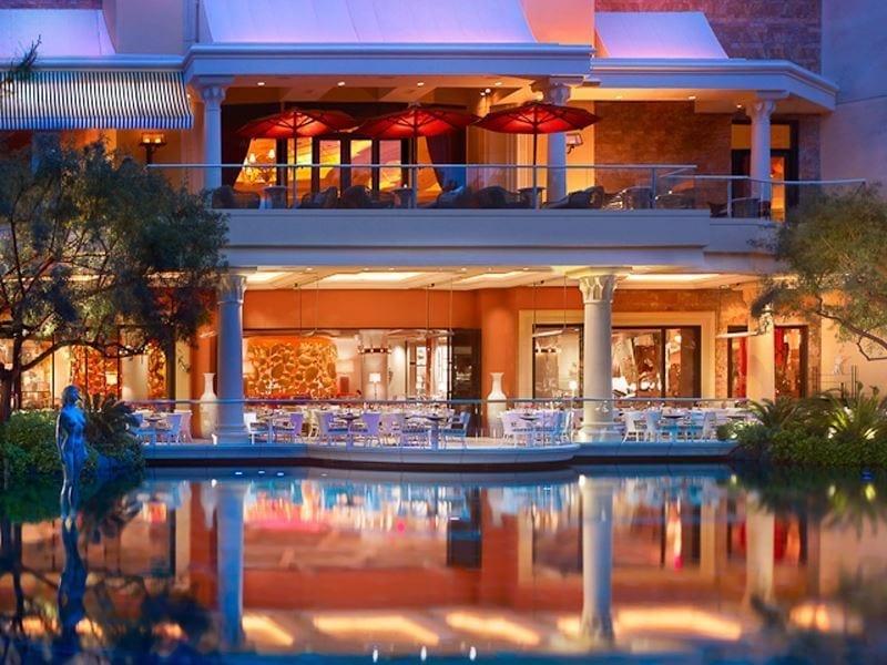 Lakeside Exterior at Wynn Las Vegas