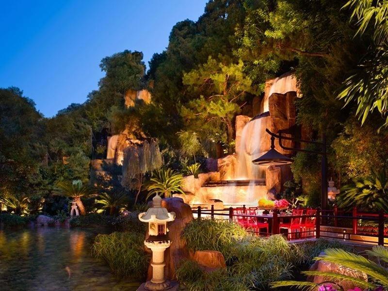 Mizumi Pagoda Table at Wynn Las Vegas