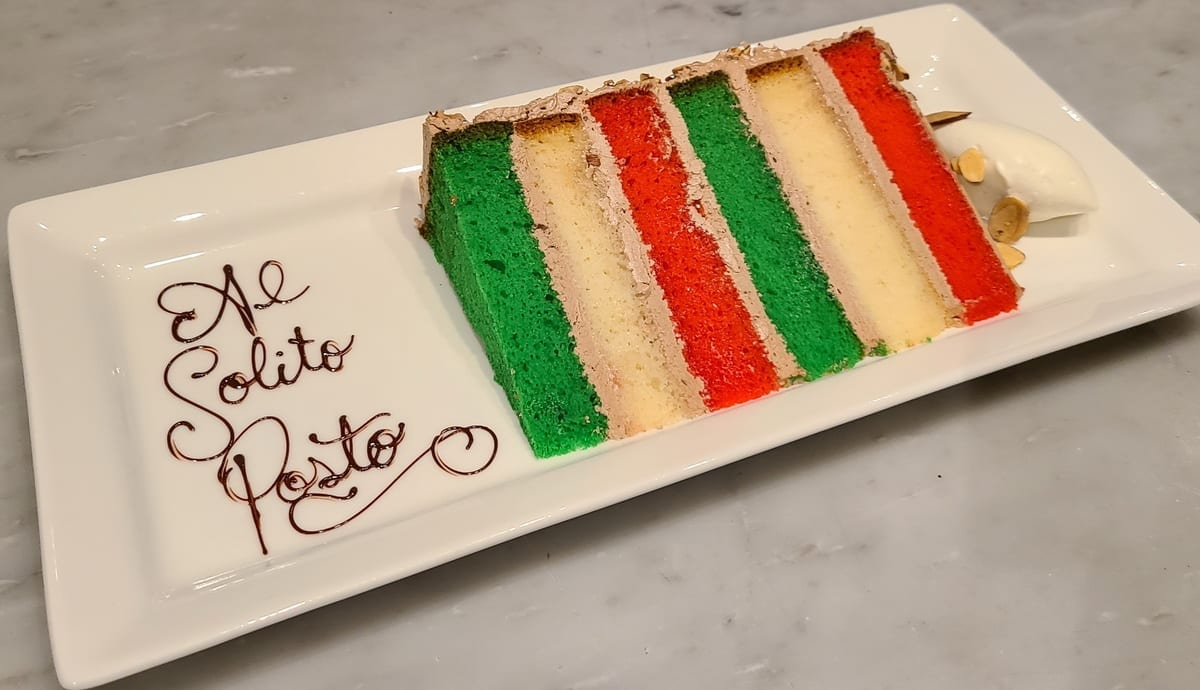 Al Solito Posto - Italian Rainbow Cake