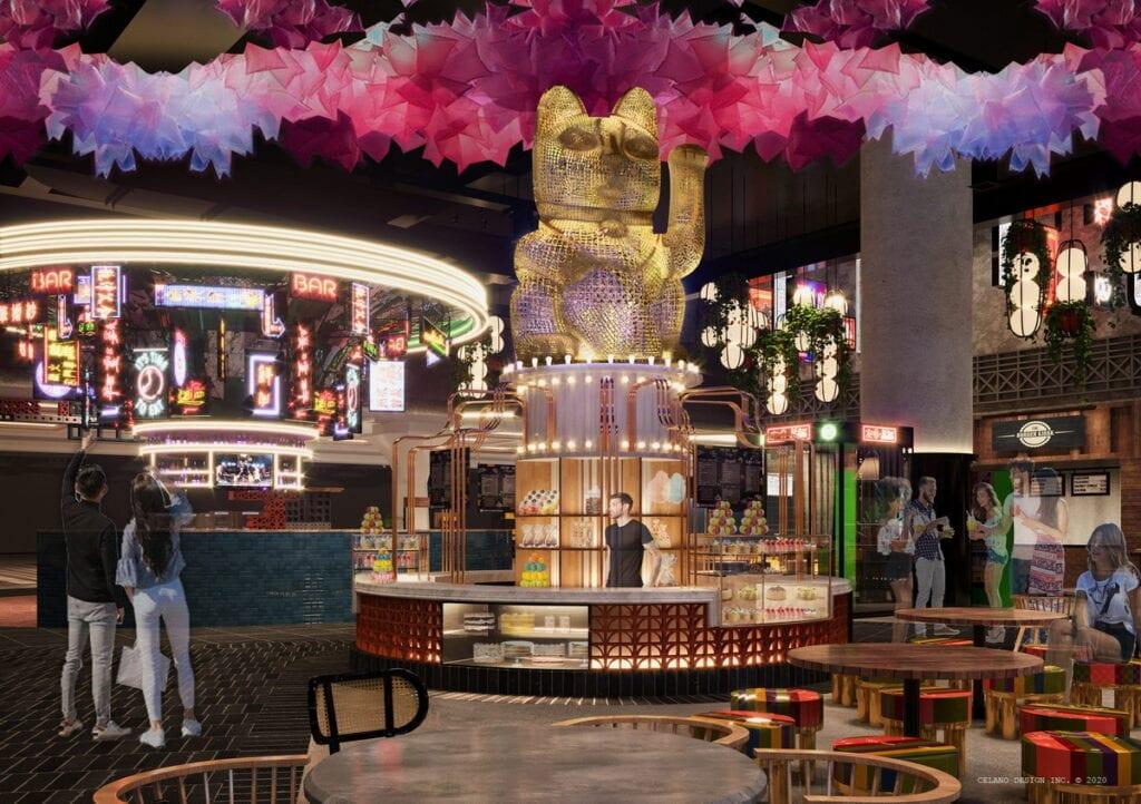 Dessert Stall at Resorts World Las Vegas