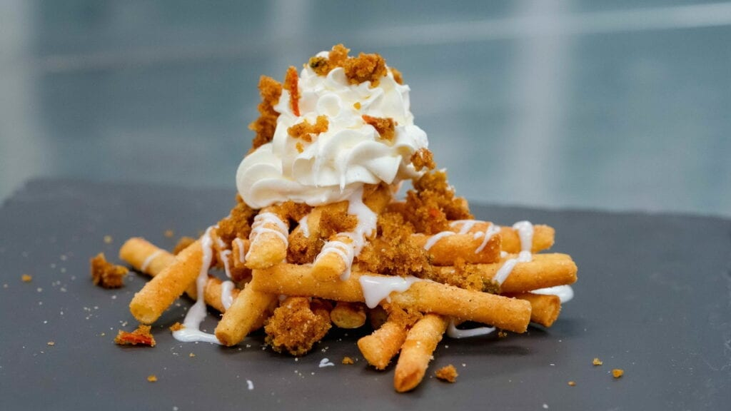Funnel Cake Fries - A Touch of Disney