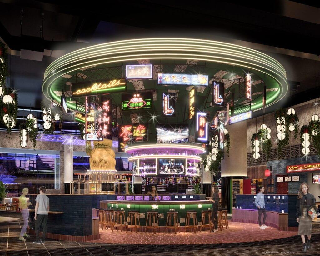 Neon Bar at Resorts World Las Vegas