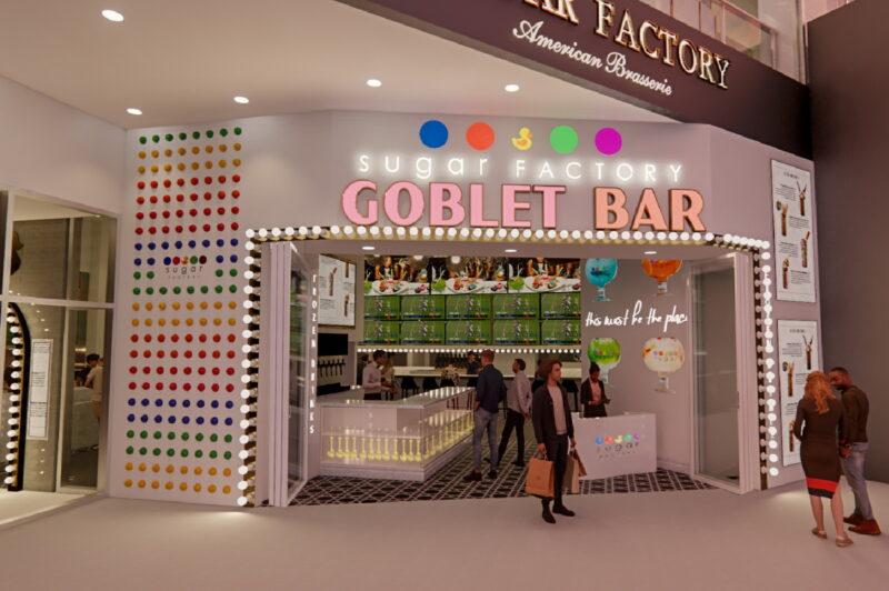 Sugar Factory American Brasserie Goblet Bar 800x532