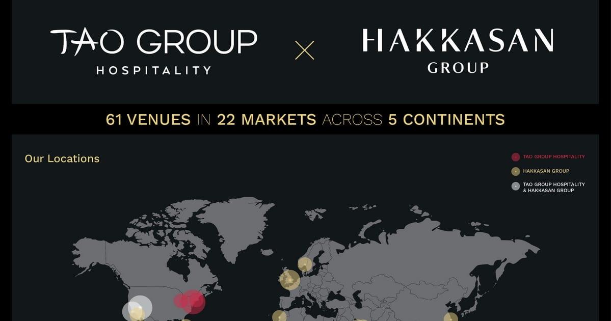 Tao Group Hospitality & Hakkasan Group Merge