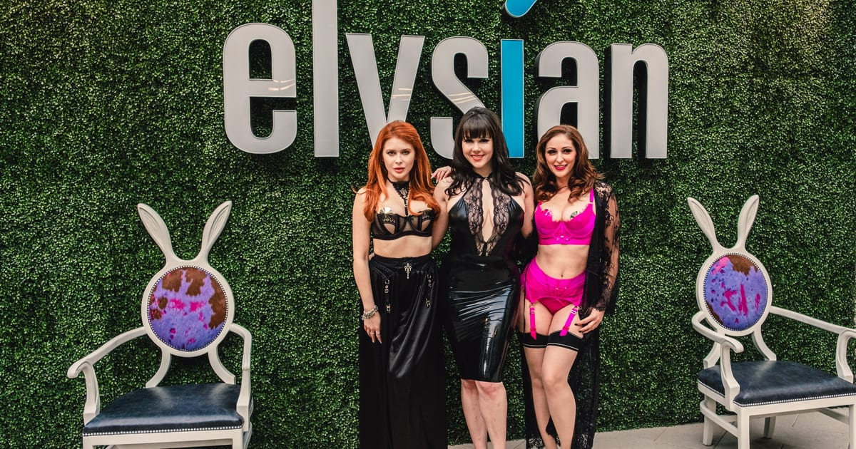 Claire Sinclair Renee Olstead and Carlotta Champagne on carpet full body