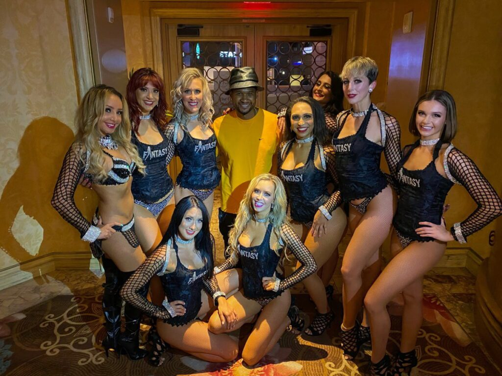 Usher with FANTASY Cast