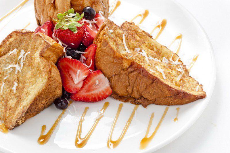 1241 Tiki Toast at The Broken Yolk Cafe