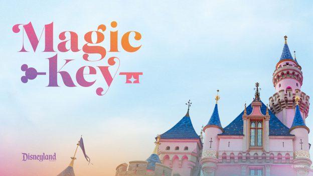 Disneyland Magic Key