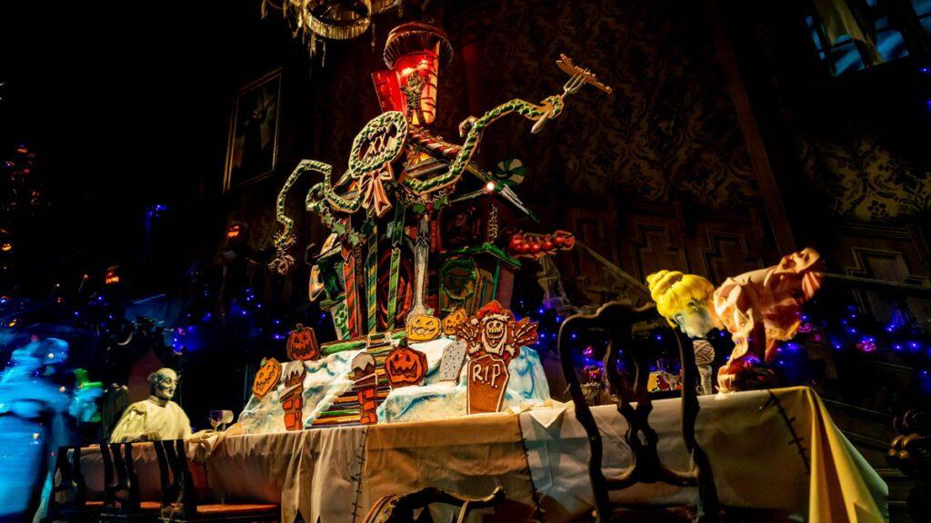 Haunted Mansion Holiday at Disneyland Park - Gingerbread House