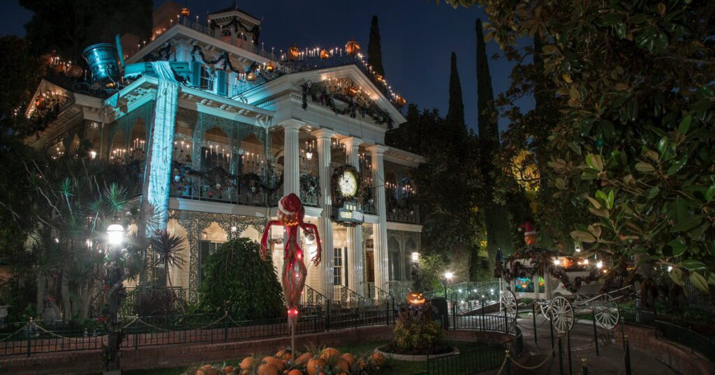 Haunted Mansion Holiday at the Disneyland Resort