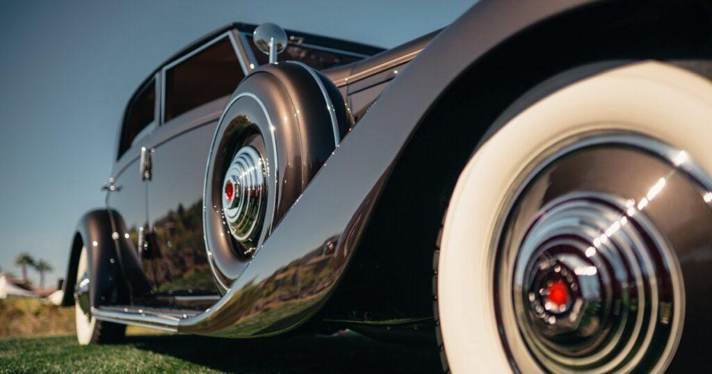 Las Vegas Concours - 1935 Duesenberg JN Bojangles Sports Sedan